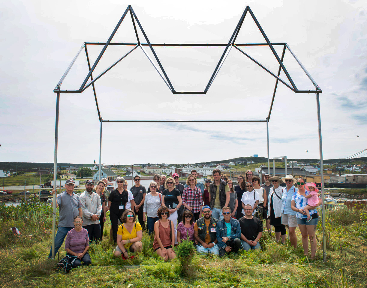 Group shot with Robert Hengeveld_passing where to_ 2019_ Brian Ricks